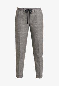 Marc O'Polo DENIM - PANTS CHECK - Pantalon classique - light grey - 4