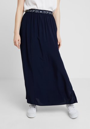 SKIRT - Jupe longue - blue night sky