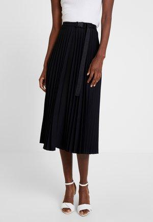 SKIRT PATCHWORK - A-line skirt - black