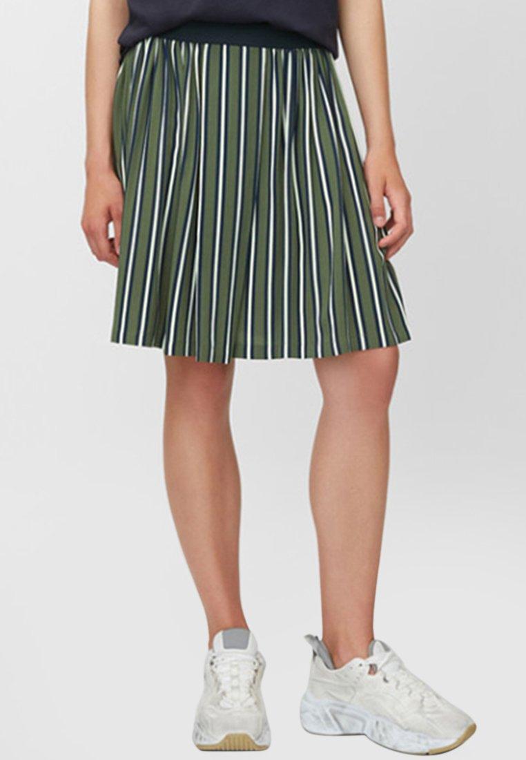 Marc O'Polo DENIM - A-line skirt - green