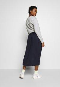 Marc O'Polo DENIM - SKIRT PLISSEE - A-line skirt - scandinavian blue - 2