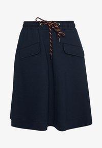 Marc O'Polo DENIM - SKIRT SHORT LENGTH FLAPPOCKETS - A-line skirt - scandinavian blue - 3