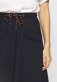 Marc O'Polo DENIM - SKIRT SHORT LENGTH FLAPPOCKETS - A-line skirt - scandinavian blue - 4