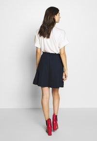 Marc O'Polo DENIM - SKIRT SHORT LENGTH FLAPPOCKETS - A-line skirt - scandinavian blue - 2