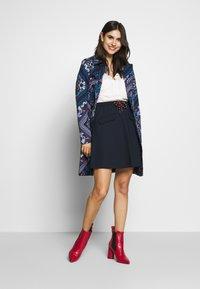 Marc O'Polo DENIM - SKIRT SHORT LENGTH FLAPPOCKETS - A-line skirt - scandinavian blue - 1