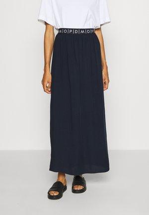 SKIRT - Maxi sukně - scandinavian blue