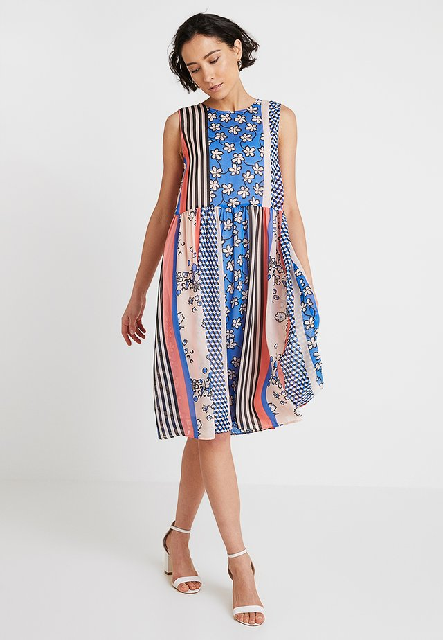 DRESS TWO LAYERS - Vapaa-ajan mekko - multi coloured