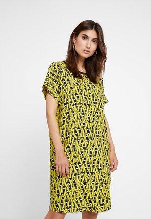 DRESS STYLE - Denní šaty - yellow/navy