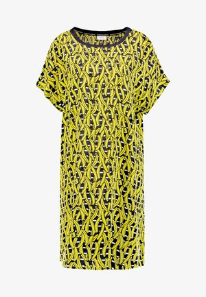 DRESS STYLE - Kjole - yellow/navy