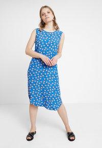 Marc O'Polo DENIM - DRESS STRAP DETAIL AT BACK - Day dress - blue - 0