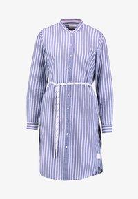Marc O'Polo DENIM - DRESS STYLE - Košilové šaty - blue/white - 5