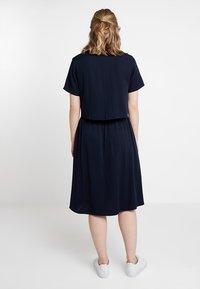 Marc O'Polo DENIM - LAYERED DRESS COLLAR - Vestido informal - blue night sky - 2
