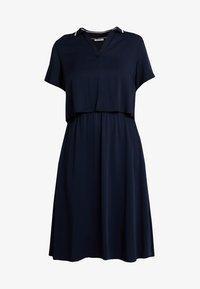 Marc O'Polo DENIM - LAYERED DRESS COLLAR - Vestido informal - blue night sky - 4