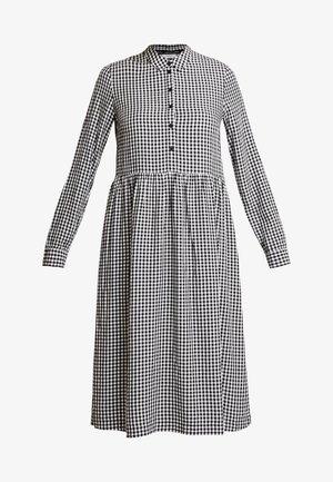 DRESS - Košilové šaty - white/dark blue
