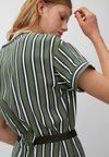 Marc O'Polo DENIM - DRESS SHORT SLEEVE - Day dress - green