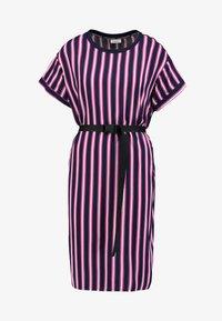 Marc O'Polo DENIM - DRESS SHORT SLEEVE - Day dress - blue/pink - 4