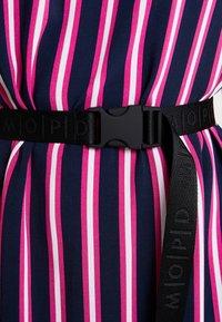 Marc O'Polo DENIM - DRESS SHORT SLEEVE - Day dress - blue/pink - 5