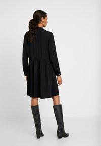Marc O'Polo DENIM - DRESS LONGSLEEVE - Vestido informal - black - 3