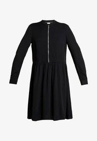 Marc O'Polo DENIM - DRESS LONGSLEEVE - Vestido informal - black - 4