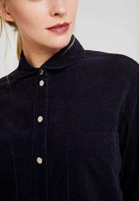 Marc O'Polo DENIM - DRESS LONG SLEEVE KENT COLLAR - Shirt dress - blue night sky - 5