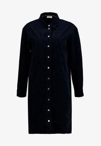 Marc O'Polo DENIM - DRESS LONG SLEEVE KENT COLLAR - Shirt dress - blue night sky - 4