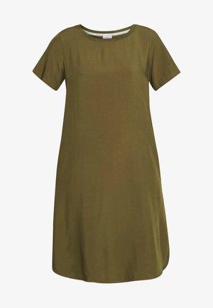 DRESS - Denní šaty - summer olive