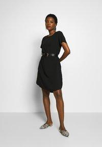 Marc O'Polo DENIM - DRESS - Denní šaty - black - 1