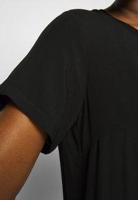 Marc O'Polo DENIM - DRESS - Denní šaty - black - 4