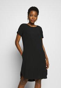 Marc O'Polo DENIM - DRESS - Denní šaty - black - 0