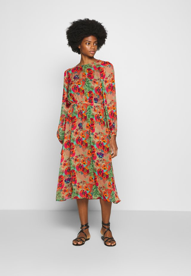 DRESS RAGLAN SLEEVE - Korte jurk - multi