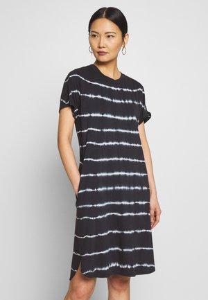 Žerzejové šaty - scandinavian blue