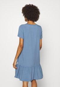 Marc O'Polo DENIM - DRESS FRILL SKIRT - Day dress - blue fantasy - 2