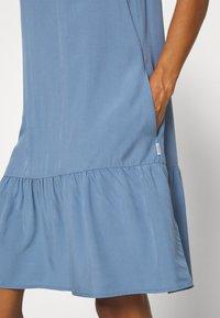 Marc O'Polo DENIM - DRESS FRILL SKIRT - Day dress - blue fantasy - 5