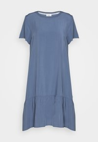 Marc O'Polo DENIM - DRESS FRILL SKIRT - Day dress - blue fantasy - 4