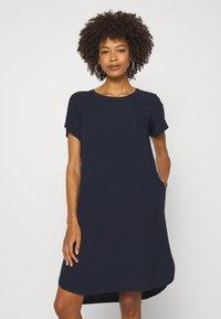 Marc O'Polo DENIM - DRESS SHAPE - Korte jurk - scandinavian blue - 0