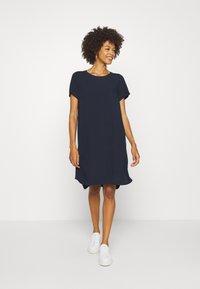 Marc O'Polo DENIM - DRESS SHAPE - Korte jurk - scandinavian blue - 1