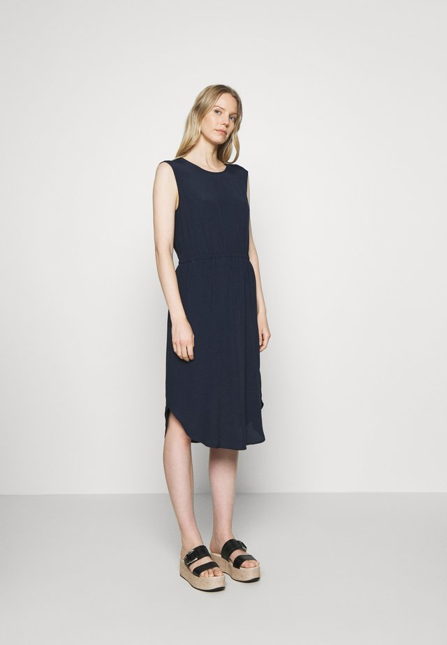 DRESS STRAP DETAIL AT BACK - Vestido informal - scandinavian blue