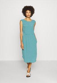 Marc O'Polo DENIM - DRESS STRAP DETAIL AT BACK - Day dress - multi - 0