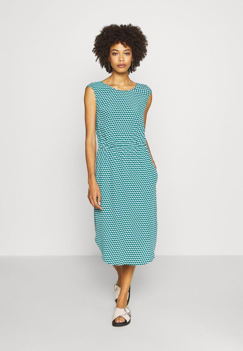 Marc O'Polo DENIM - DRESS STRAP DETAIL AT BACK - Day dress - multi