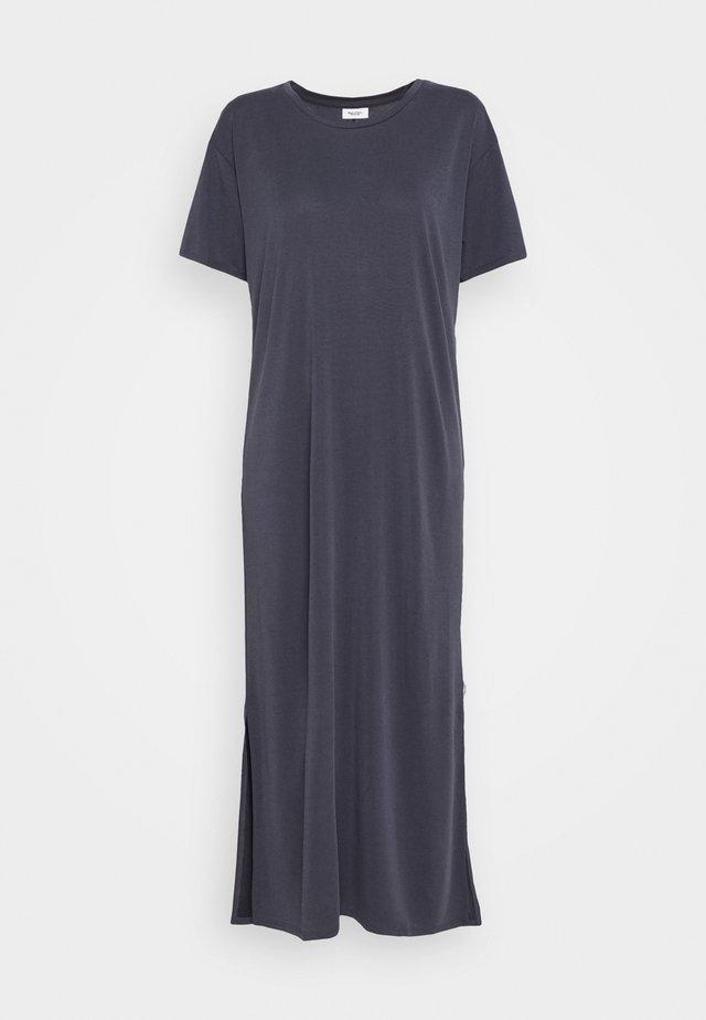 DRESS SHORT SLEEVE - Sukienka z dżerseju - scandinavian blue