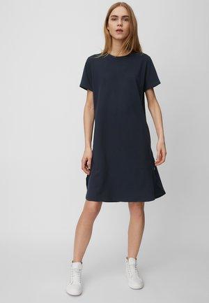 Jersey dress - scandinavian blue