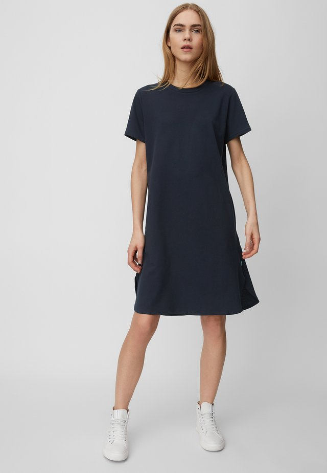 Jersey dress - scandinavian blue