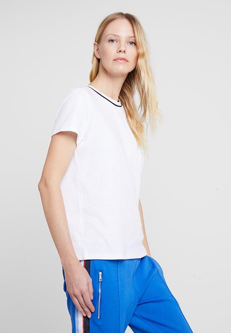 Marc O'Polo DENIM - SHORT SLEEVE - T-Shirt basic - white