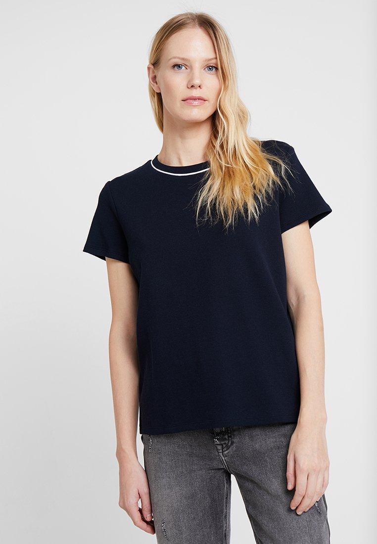Marc O'Polo DENIM - SHORT SLEEVE - Basic T-shirt - blue night sky