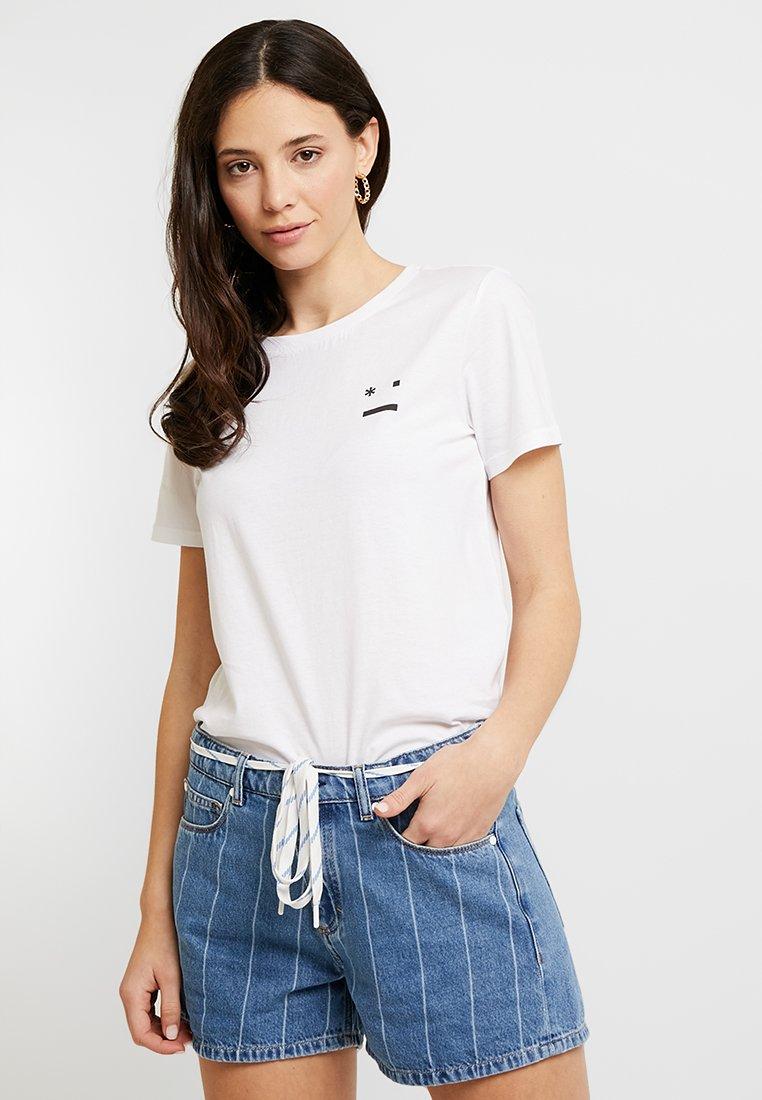 Marc O'Polo DENIM 2 PACK - T-shirts med print - white