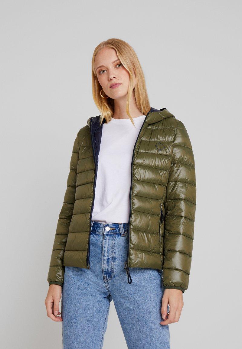 Marc O'Polo DENIM - JACKET ULTRA LIGHTWEIGHT HOOD - Light jacket - washed sage