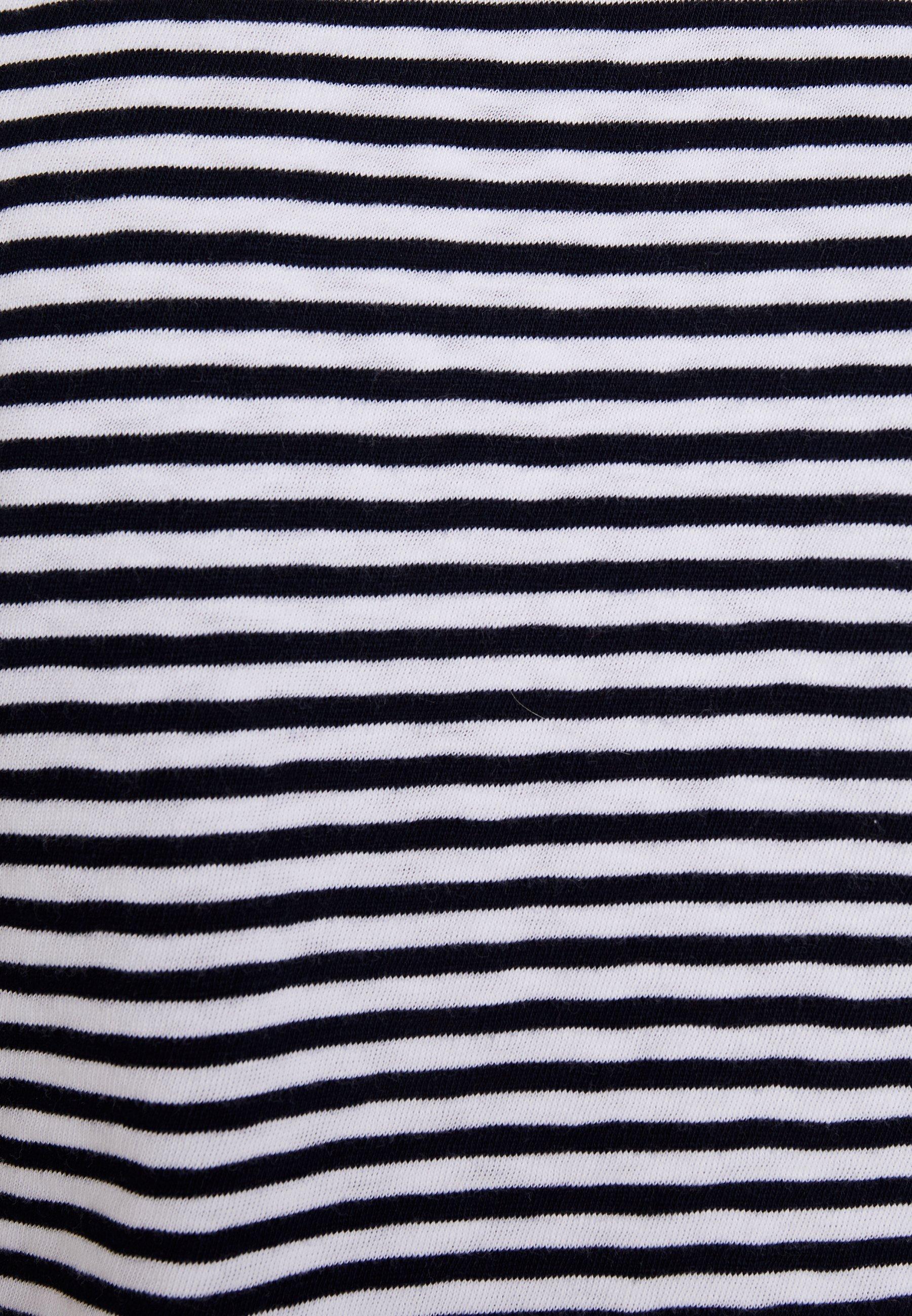 LONG shirt à Ox27;Polo combo longues DENIM Marc SLEEVET manches STRIPE dBxeWCor