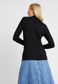 Marc O'Polo DENIM - LONGSLEEVE TURTLE NECK - Topper langermet - black - 2