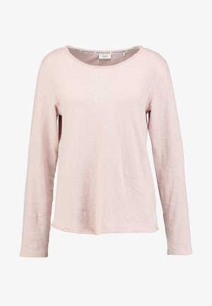 CREW NECK RAW CUT EDGES - Trui - faded pink