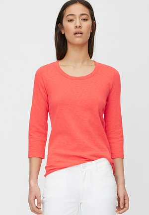 Long sleeved top - soft coral